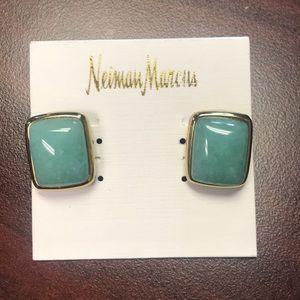 Neiman Marcus Earrings Stud. NWT